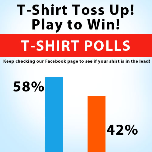 UPDATE T-Shirt Toss Up - Play to Win!