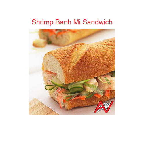 Shrimp Banh Mi Sandwich