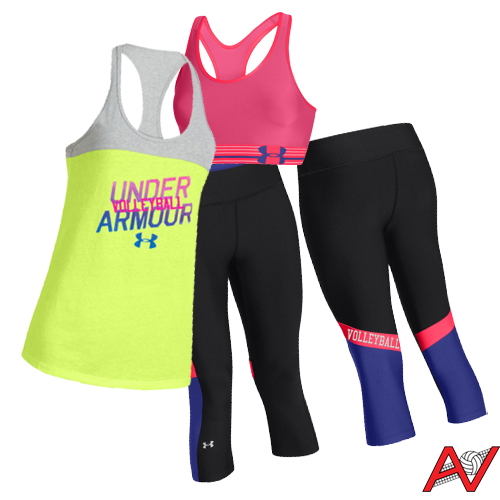 Lovin' this Under Armour workout outfit!