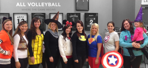 Costumes at All Volleyball!